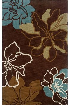Brown And Blue Living Rooms Room Rugs On Teal Chocolate Large Luxury Designer Dining Kitchen Pinterest