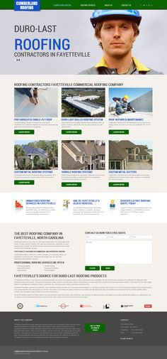 Launched another great roofing contractor site. Check it out and provide feedback.