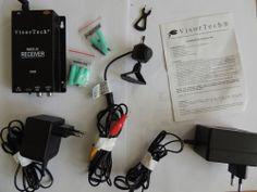 VisorTech Wireless Ultra Small Camera Kit. Funkkamera 2.4Ghz