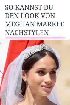 Die Braut des Jahres: Meghan Markle. Pinterest liefert dir die besten Ideen zum Nachstylen ihres natürlichen Looks. #meghanmarkle #styling #hochzeit #royalwedding #beauty #trend #brautmakeup #brautfrisur