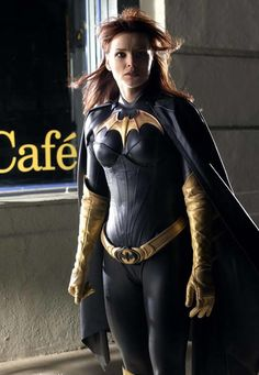 Barbara Gordon...Batgirl! From Birds of Prey TV show