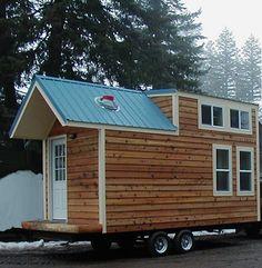 Hamptons mobile tiny house