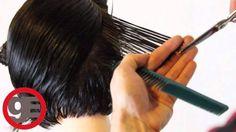 How To Cut Graduated Bob Haircut Step By Step From Matt Beck (Classic Graduation).