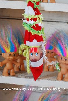 Elf on the Shelf vs. Troll Dolls  Who is creepier?