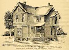 drawn victorian house | Smashing Autumn Week 8 | Pinterest | Small ...