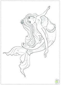 Barbie In A Mermaid Tale Coloring Pages Printable