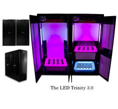 """Super LED Grow Boxes use """"Super LED Grow Lights"""", which are the only LED grow lights that are designed exclusively for growing in grow boxes..."""