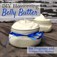 Blossoming Belly Butter Recipe for Pregnant & Postpartum Mamas