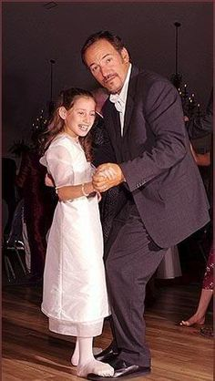 Bruce and his daughter