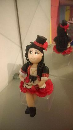 Topo para bolo Aline Barros. Aniversário de Sawara.