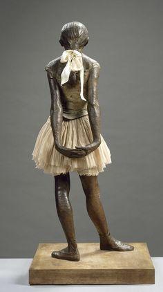 Edgar Degas, Petite danseuse de quatorze ans  on ArtStack #edgar-degas #art