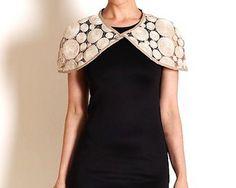 Melbourne boutique | Australian designer clothing | hand made accessories | one off pieces | The Estelle Store | Collingwood | Colour Me Quant Shrug - Wheat