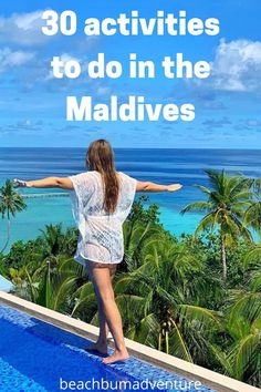 Best activities to do in the Maldives - Beach Bum Adventure. #beach #travel #adventure #photography #island #wanderlust #tour #vacation
