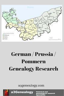 a3Genealogy: German / Prussia / Pommern Genealogy Research