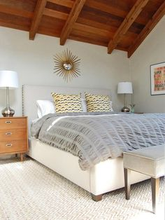 Soft Touch - Beautiful Bedrooms: 15 Shades of Gray on HGTV