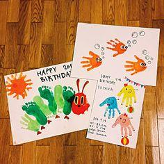 女性で、Overview/はらぺこあおむし/子どもの作品/手形アート/こどもと暮らす。/はらぺこあおむし 足型/手形足形アート/10000人の暮らし/●●の置き場所についてのインテリア実例。 (2018-01-19 14:43:31に共有されました) Toddler Arts And Crafts, Toddler Activities, Diy And Crafts, Crafts For Kids, Happy 20th Birthday, Footprint Crafts, Foto Baby, Handprint Art, Daycare Crafts