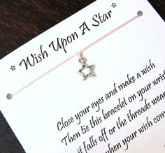 Wish Upon A Star  Open Star Charm  Wish by PlunkettDesigns on Etsy, $5.95