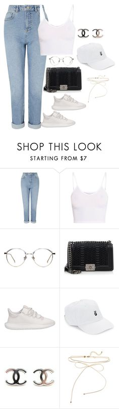 """""""Untitled #4144"""" by magsmccray ❤ liked on Polyvore featuring Miss Selfridge, Chanel, adidas and Body Rags"""