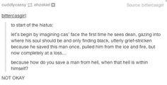 """Community Post: Tumblr's Reaction To The """"Supernatural"""" Finale NO NO NO NO NO NO THIS WILL NEVER BE OKAY NOOOOOOOOOOO"""