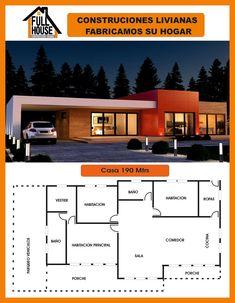 modern home design ideas 2018 Bungalow House Plans, Bungalow House Design, Ranch House Plans, Best House Plans, Dream House Plans, Sims House Design, Small House Design, Modern House Design, Modern House Facades
