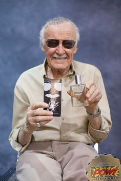 Now you can smell like Stan Lee, too! Introducing Stan Lee cologne
