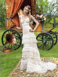 Modelo Londres. Coleccion Alquimia. Vestidos de Novia 2011 Yolan Cris.
