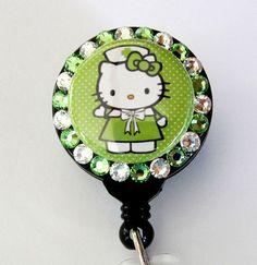 Nurse Hello Kitty badge holder..eeeppp