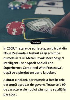 Spock, Ursula, Guinness, Poker, Superhero, Superheroes