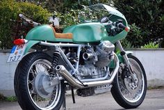Cafe Racer Guzzi by HTMoto