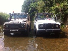 Two Land Rovers...Dating? ... Affair?
