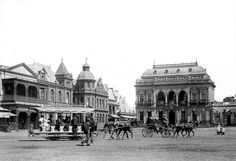 Bank buildings in Kerk Plein, (Church Square), Pretoria. On the right is The National Farmers Trade Union building| Flickr - Photo Sharing!