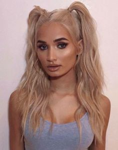 Hot hairstyles you can take off in 2019 - page 10 of 10 - VIVA GLAM MA . High Ponytail Hairstyles, Tomboy Hairstyles, Fringe Hairstyles, Headband Hairstyles, Model Hairstyles, Anime Hairstyles, Fashion Hairstyles, Hairstyles Videos, Hairstyles For Pictures