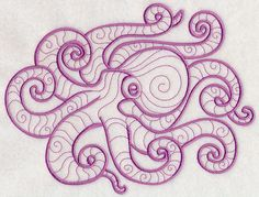 Light and Lovely Octopus