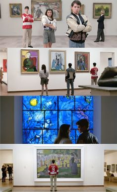 classic museum scene (wonder how many others have tried this...?)