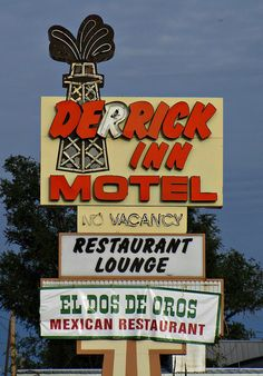 Derrick Inn Motel In Ness City Kansas