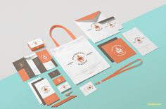 Best choice for presenting your stationery branding. #free #freebie #mockup #psd #photoshop #stationery #packaging #branding #identity #presentation