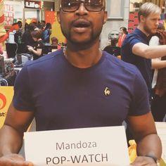 Mandoza has a pretty cool #popwatchconfession #tv #taxis