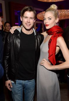 Chord Overstreet and Jaime King attend the opening of Restoration Hardware West Hollywood The Gallery on Melrose Avenue
