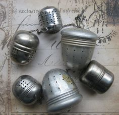 are we gonna use tea strainers? or one-time use strainers of paper?