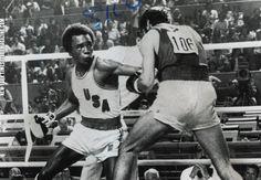 Sugar Ray Leonard at the Montreal Olympics