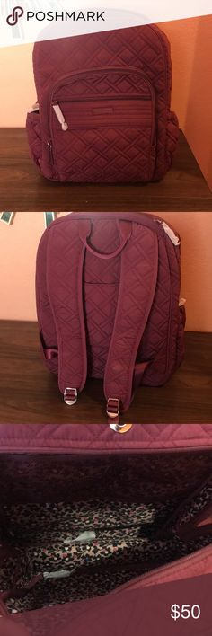 Vera Bradley Backpack Purple Vera Bradley backpack Vera Bradley Other