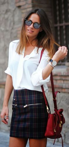 Love it! - Checks by Fashionvibe Discover and share your fashion ideas on…