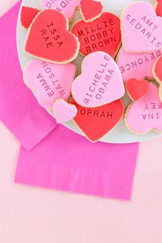 Influential Women Galentine's Day Cookies