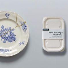 New KINTSUGI Repair Kit   Mora Approved - 20 pund - kan drikke fra kop repareret med dette