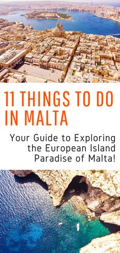 Things to Do in Malta - Your guide to exploring the island of Malta and getting the most out of your visit! Including Malta beaches, where to stay in Malta, and all the best sites in Malta! Backpacking Europe, Europe Travel Tips, Travel Guides, Travel Plan, Travel Articles, Malta Beaches, Europe Beaches, Maldives Destinations, Travel Destinations