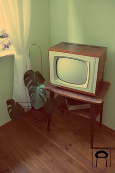 Telewizor Alga 21-P36-70 czarno - biały, z 1967 roku. | CoolHunters