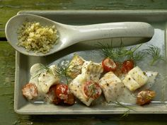 Zander-Tomaten-Pfanne - mit Senfsauce - smarter - Kalorien: 236 Kcal - Zeit: 20 Min. | eatsmarter.de