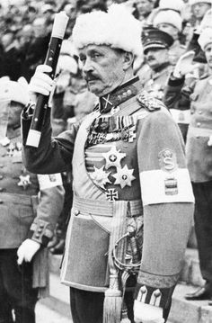 Field Marshal Carl Gustaf Mannerheim - October 9, 1939.  Field Marshal Carl Gustaf Mannerheim, a national hero of Finland, who led the Finnish Armies against Soviet Russia during World War II.