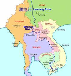 term condition about mekong river link exchange faqs mekong map Vietnam, Brown Water Navy, Da Nang, Hanoi, Asia Travel, Southeast Asia, Geology, Geography, Bangkok