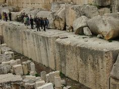 Megalithic Enigmas Of Baalbek Lebanon: Part 3 Of 4: Inside Baalbek 1